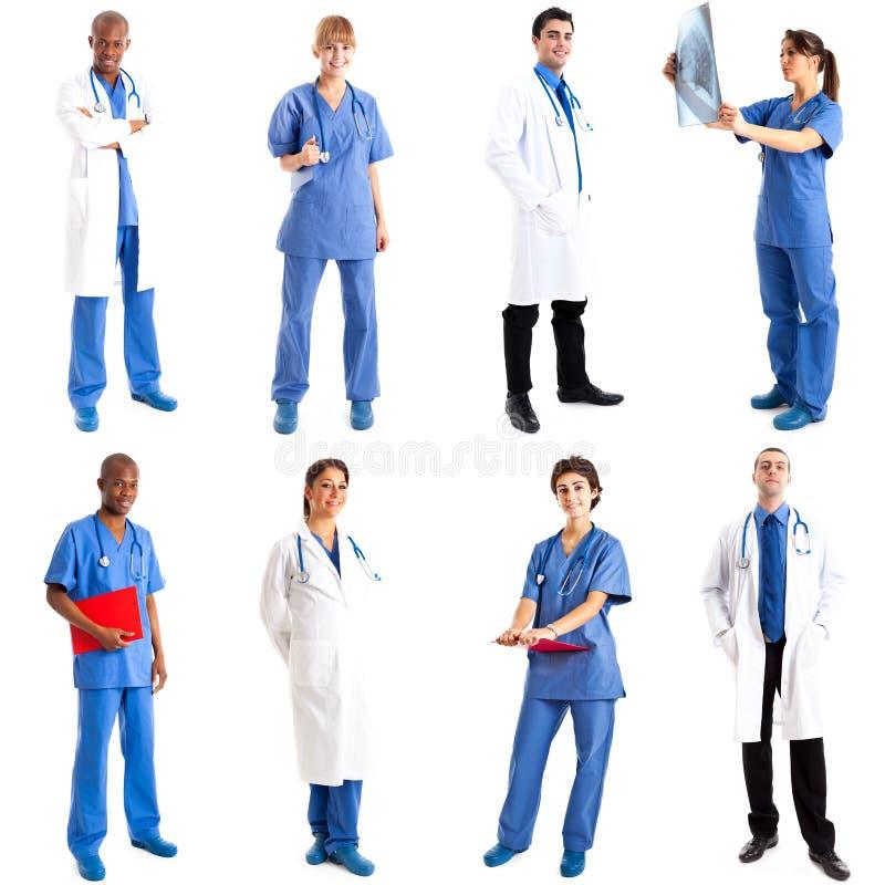 Medizinische Arbeitskräfte stockbild