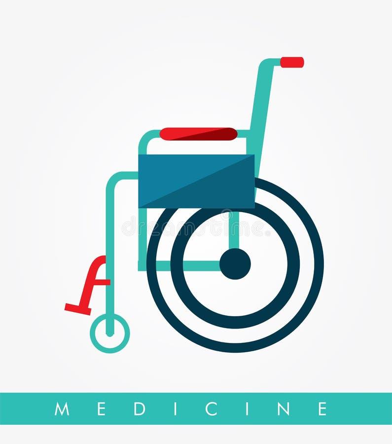 Medizinische Auslegung stock abbildung