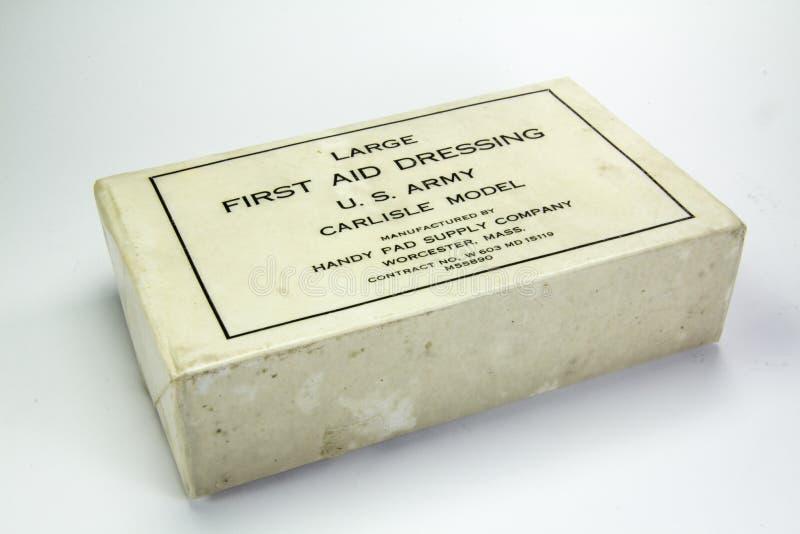 Medizinische Bedarfe benutzt während des Zweiten Weltkrieges lizenzfreie stockbilder