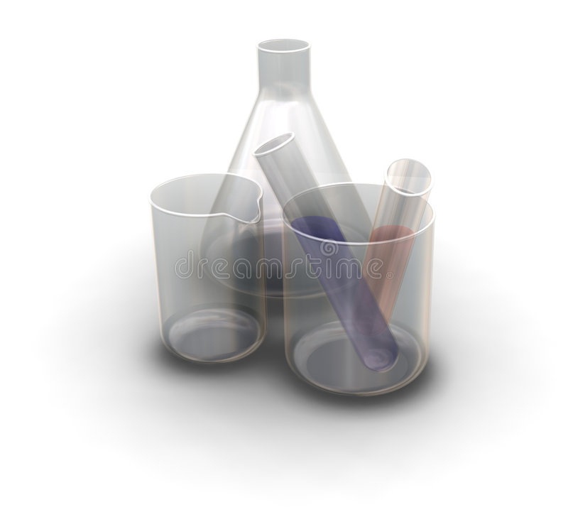 Medizinische Behälter lizenzfreie abbildung