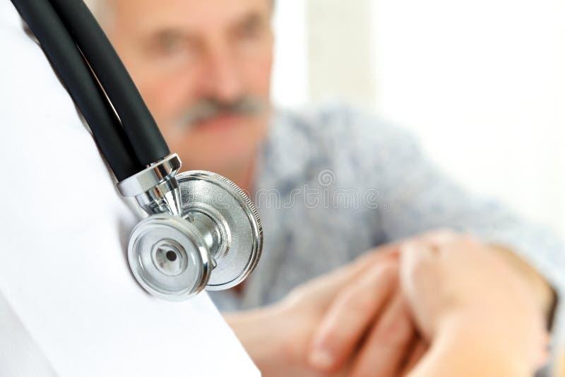 Medizinische Behandlung lizenzfreies stockbild