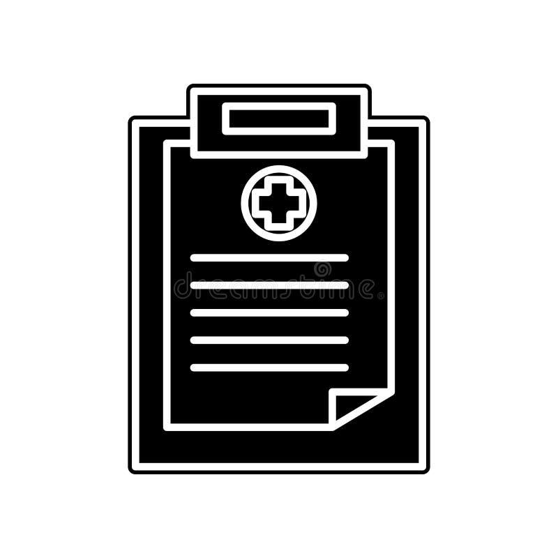 medizinische Ergebnisikone Element der Blutspende für bewegliches Konzept und Netz Appsikone Glyph, flache Ikone für Websiteentwu stock abbildung