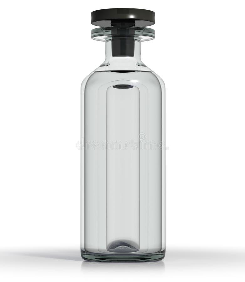Medizinische Flasche stock abbildung
