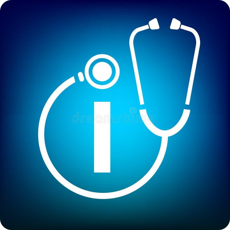 Medizinische Informationen lizenzfreie abbildung