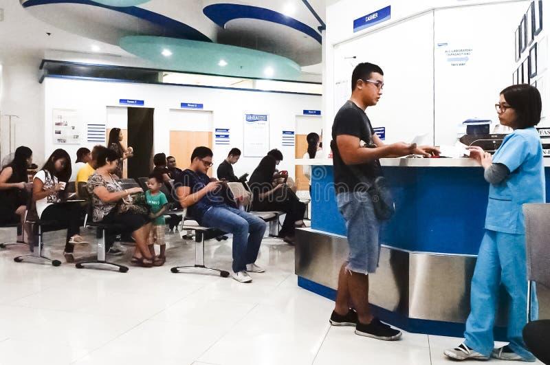 Medizinische Klinik in Asien lizenzfreie stockfotos