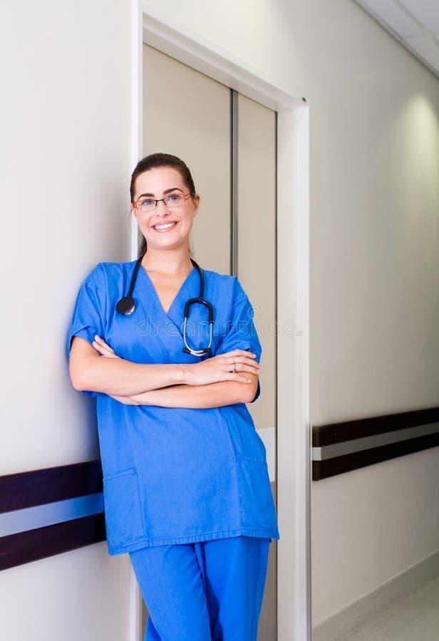 Medizinische Krankenschwester lizenzfreies stockbild