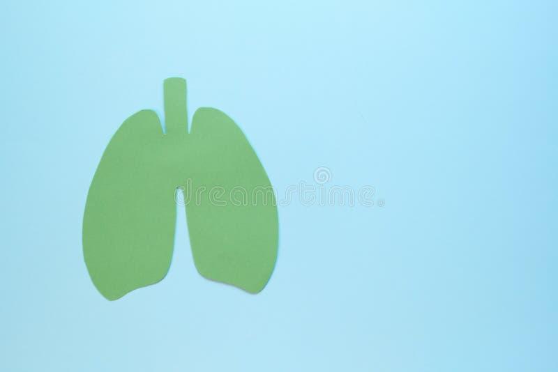 Medizinische Lungentherapie Lungenoperation Puzzle Konzept der Atemwegserkrankung, Lungenentzündung, Tuberkulose lizenzfreie stockbilder