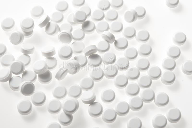 Medizinische Pillentabletten lizenzfreies stockfoto