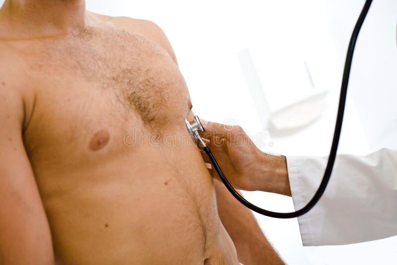 Medizinische Prüfung stockbild