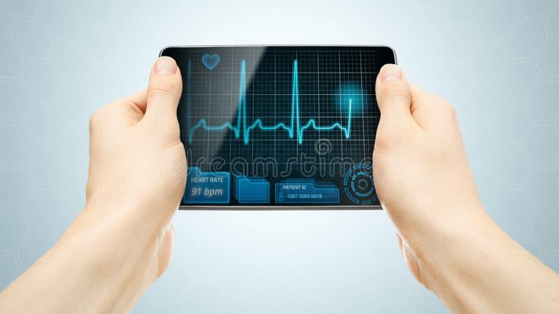 Medizinische Tablette lizenzfreies stockfoto