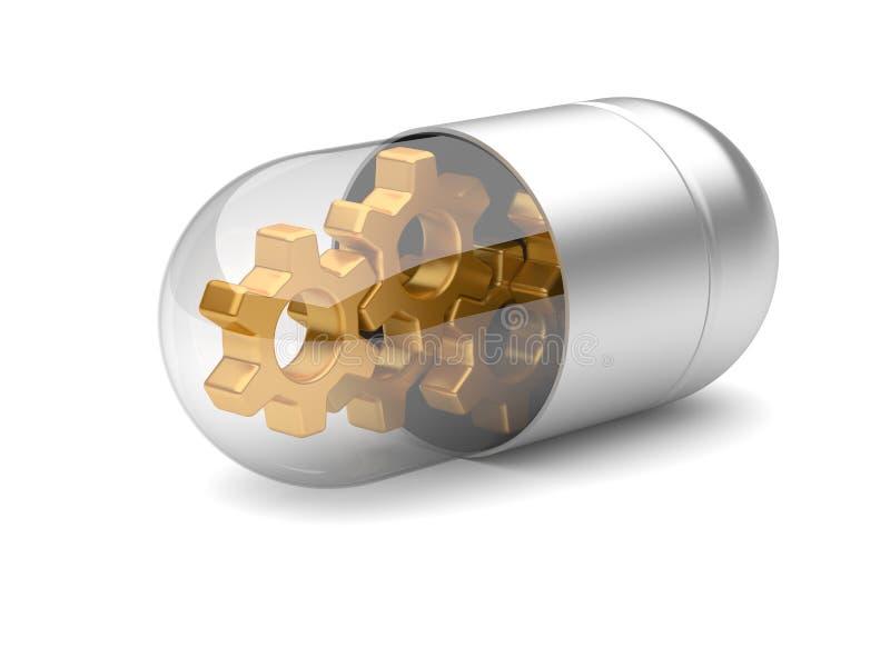 Medizinische Technologien lizenzfreie abbildung