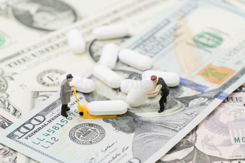Medizinischen oder Geschäftskonzept der Pharmaindustrie des Gesundheitswesens, stockfotografie