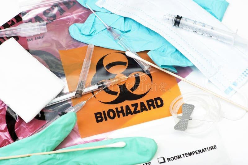 Medizinischer Abfall stockbild
