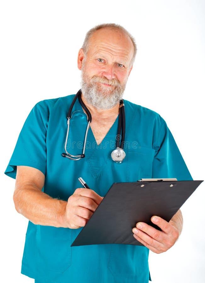 Medizinischer Check oben stockbild