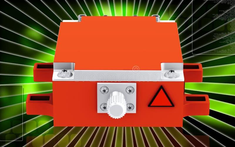 Medizinischer Laser lizenzfreie abbildung