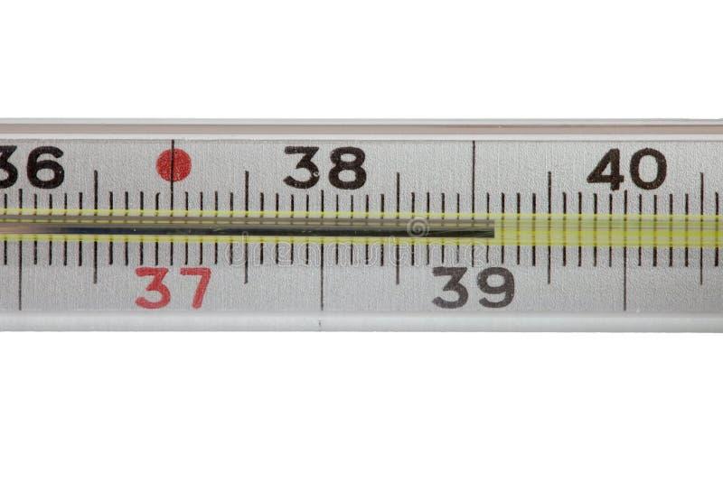 Medizinischer Quecksilberthermometer lizenzfreie stockfotos