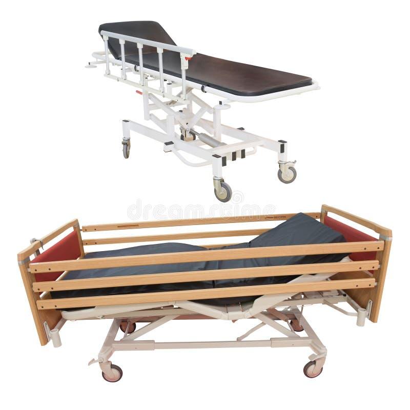 Medizinisches Bett lizenzfreie stockfotografie
