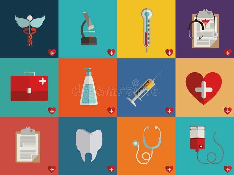 Medizinisches Design stock abbildung