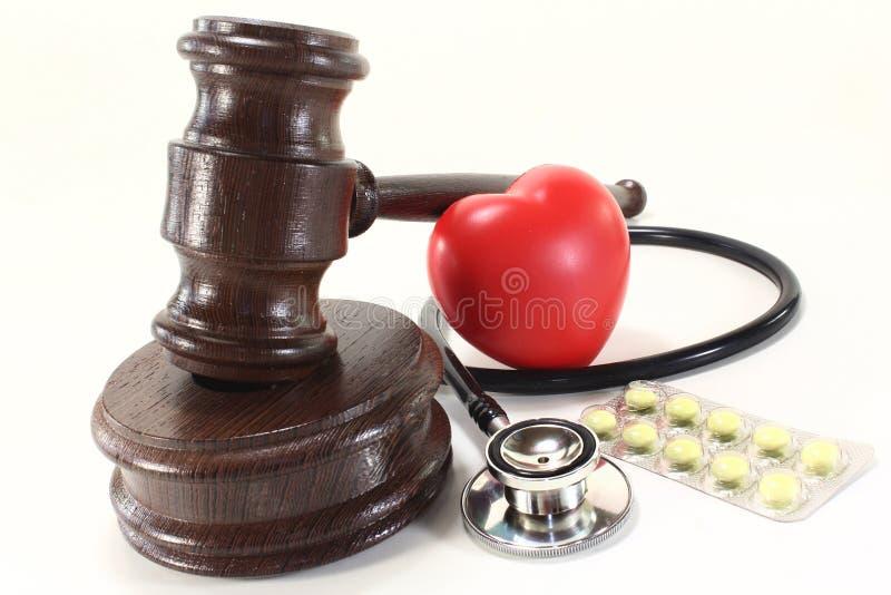 Medizinisches Gesetz lizenzfreie stockfotografie