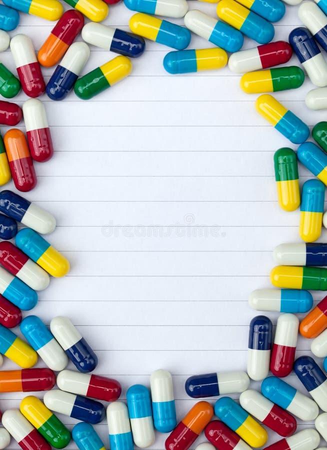 Medizinisches Info lizenzfreie stockfotografie