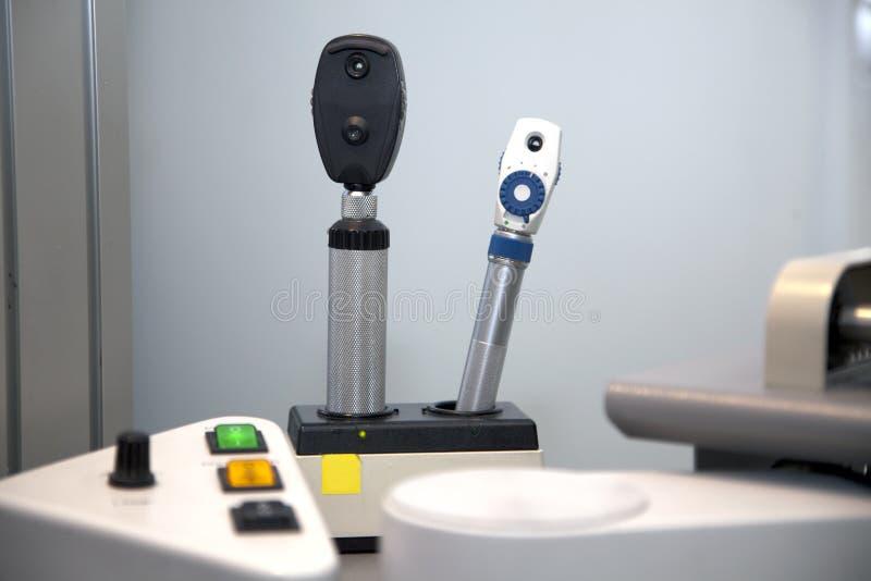 Medizinisches Instrument der Augenheilkunde lizenzfreie stockbilder