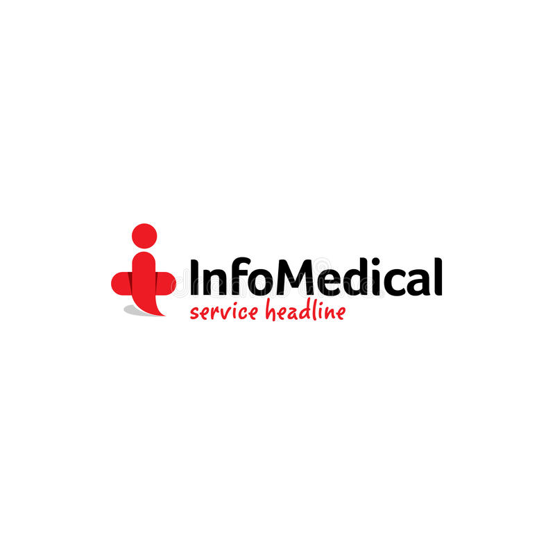Medizinisches Logo lizenzfreie stockfotografie