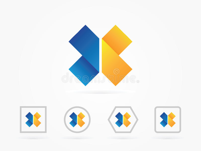 Medizinisches Logo der Vektor-Illustration stock abbildung
