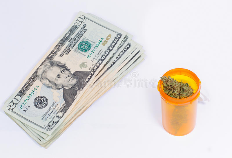 Medizinisches Marihuana lizenzfreies stockfoto