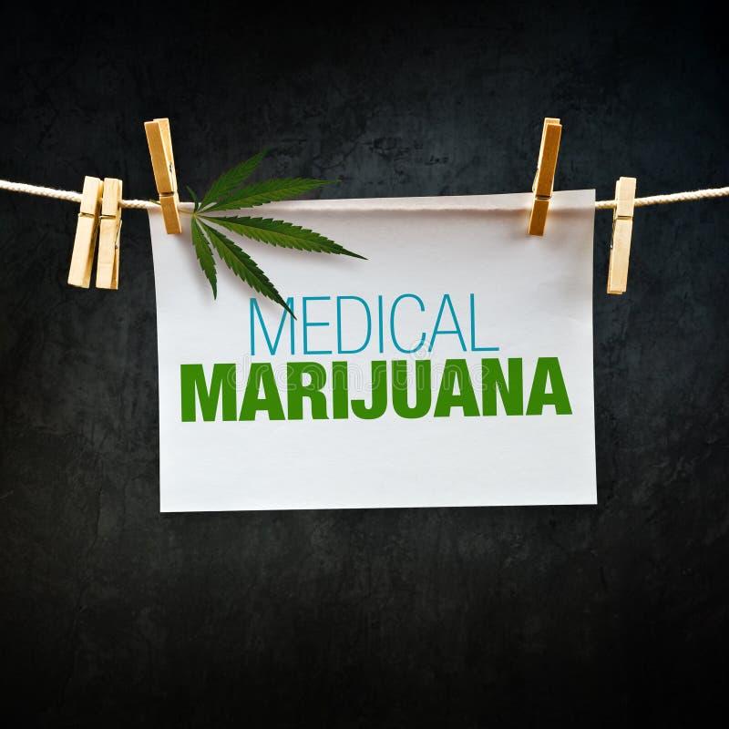 Medizinisches Marihuana stockfotografie