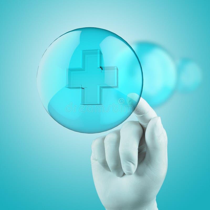 Medizinisches Netzkonzept lizenzfreie stockbilder