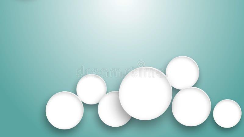 Medizinisches Symbol in weißem Kreis auf blauem Hintergrund stockfotos