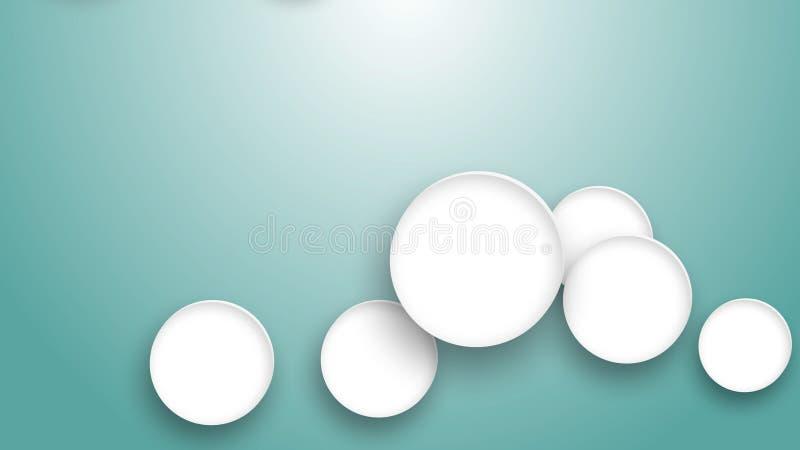 Medizinisches Symbol in weißem Kreis auf blauem Hintergrund stockbild