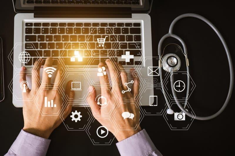 Medizinisches Technologiekonzept stockfoto
