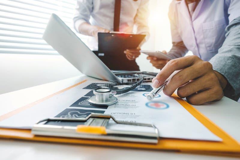 Medizinisches Technologiekonzept Doktorfunktion lizenzfreie stockfotografie