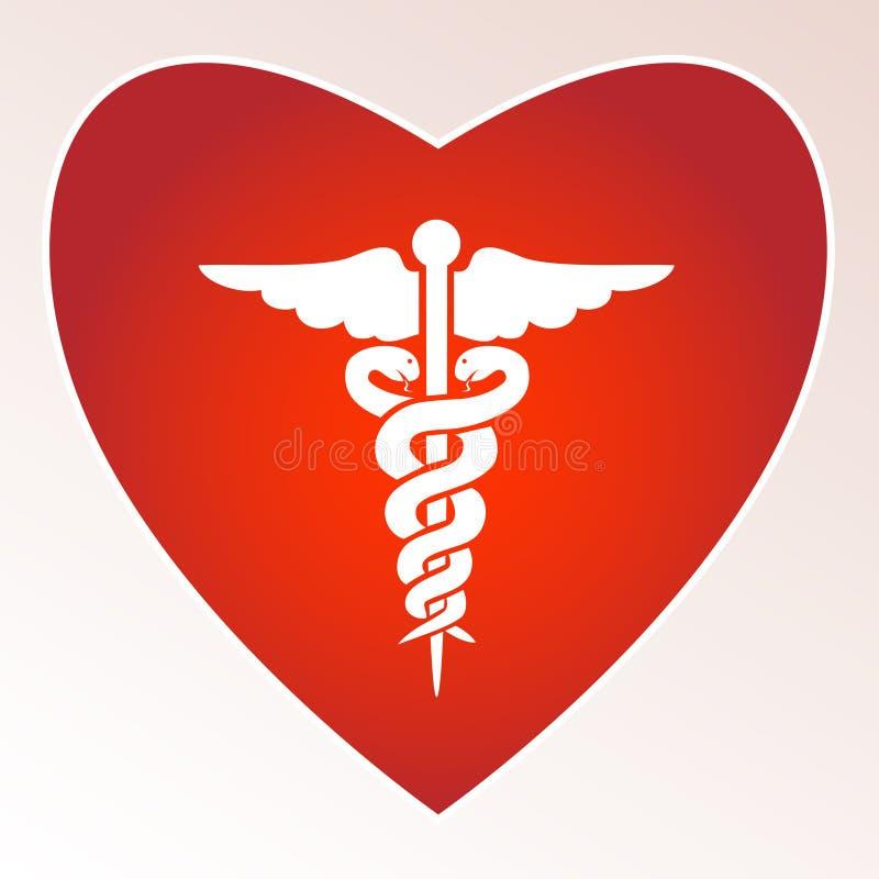 Medizinisches Zeichen stock abbildung