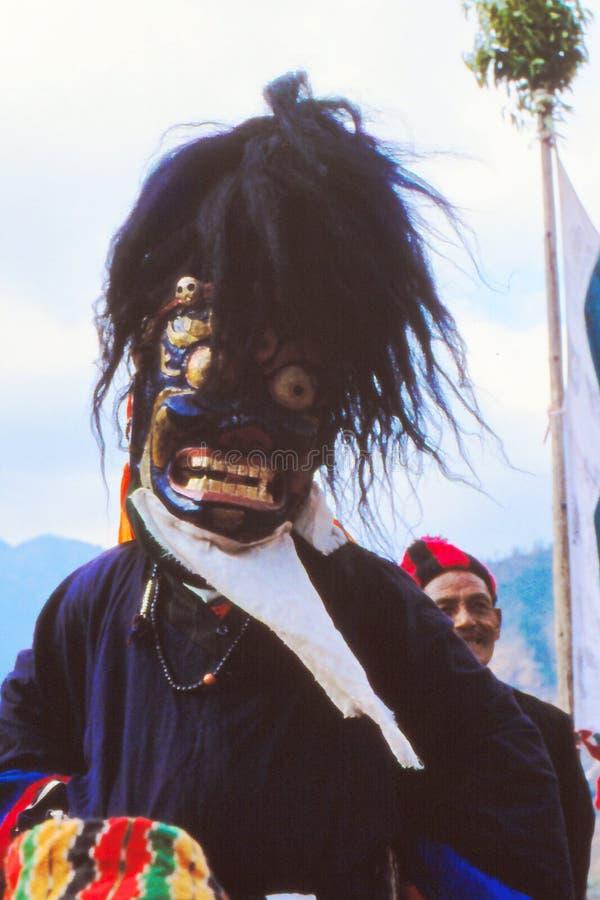 Medizinmannpriester in Nepal lizenzfreie stockfotografie
