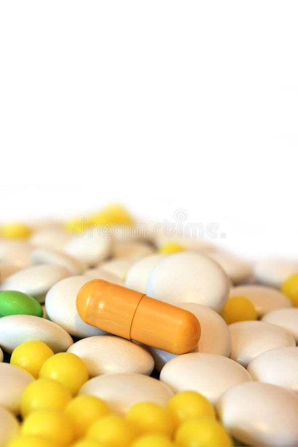 Medizinpillen stockfoto