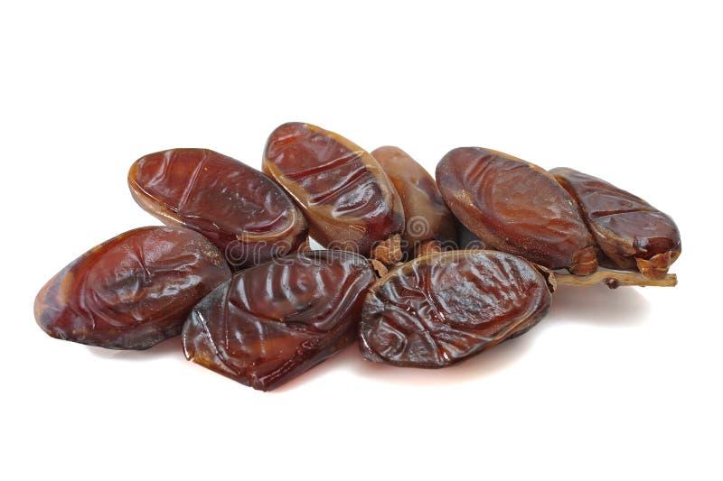 Medjool dates. Fruit isolated on white stock image