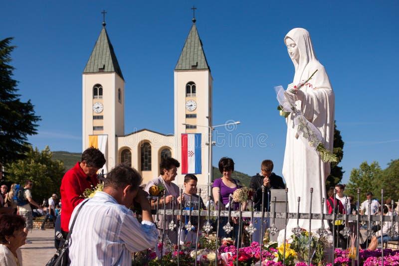 Medjugorje Bosnie-Herzégovine image stock