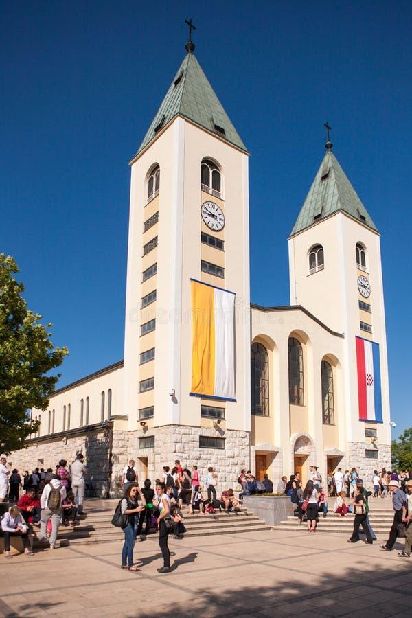 Medjugorje Bosnie-Herzégovine photos stock