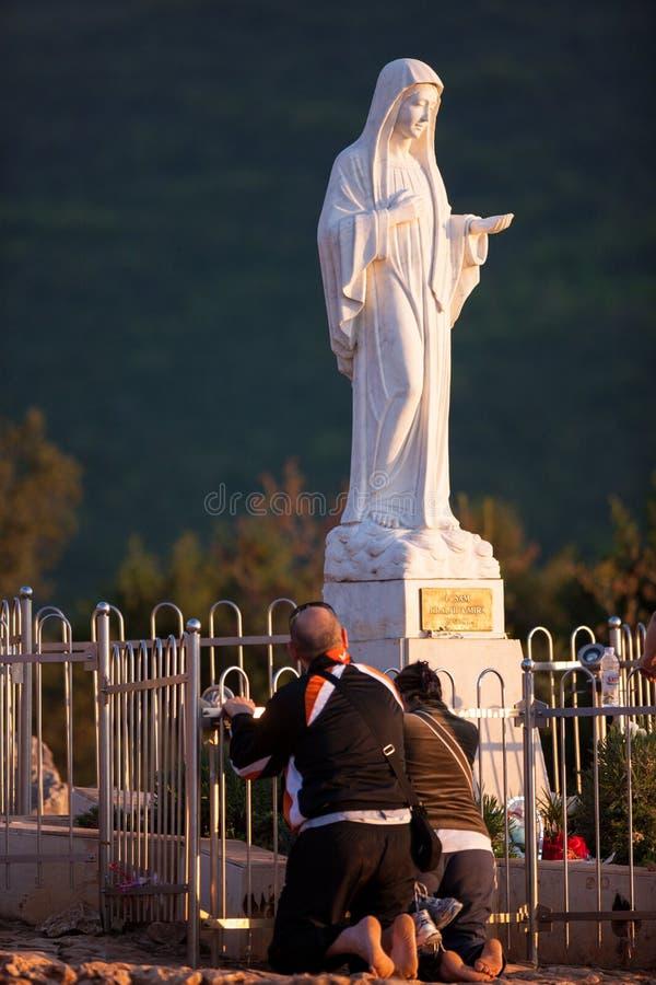 Medjugorje Bosnie-Herzégovine image libre de droits