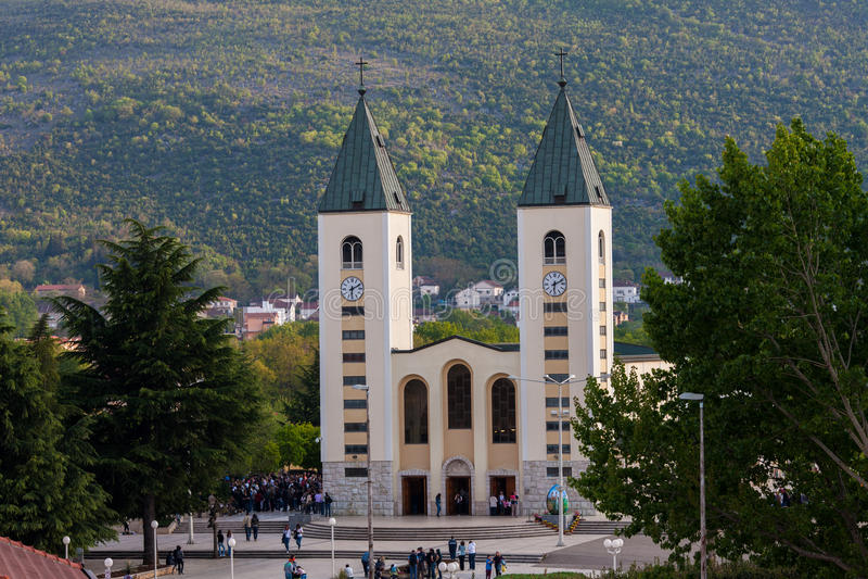 Medjugorje Bosnie-Herzégovine images libres de droits
