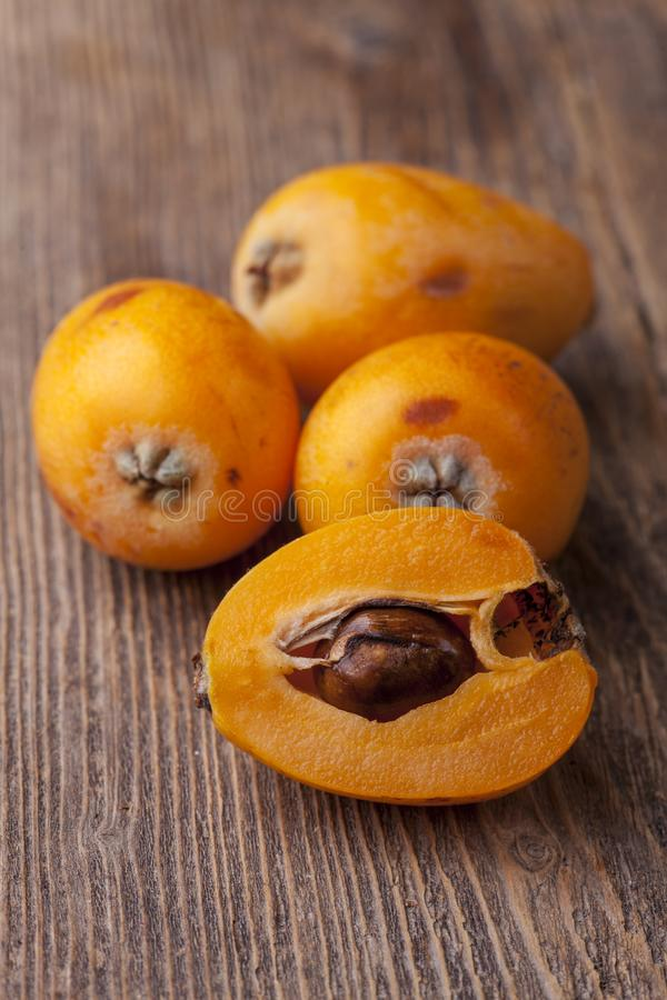 Medlars stock photography