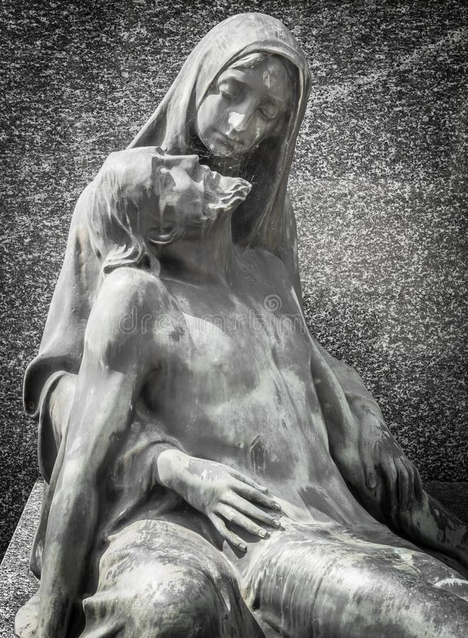 Medlidande av Kristus arkivfoton