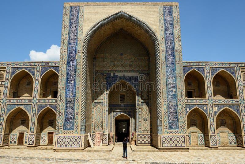 Medrese Ulugbeka w Bukhara, Uzbekistan zdjęcia royalty free
