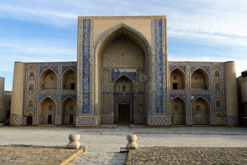 Medrese Ulugbeka w Bukhara, Uzbekistan obraz stock