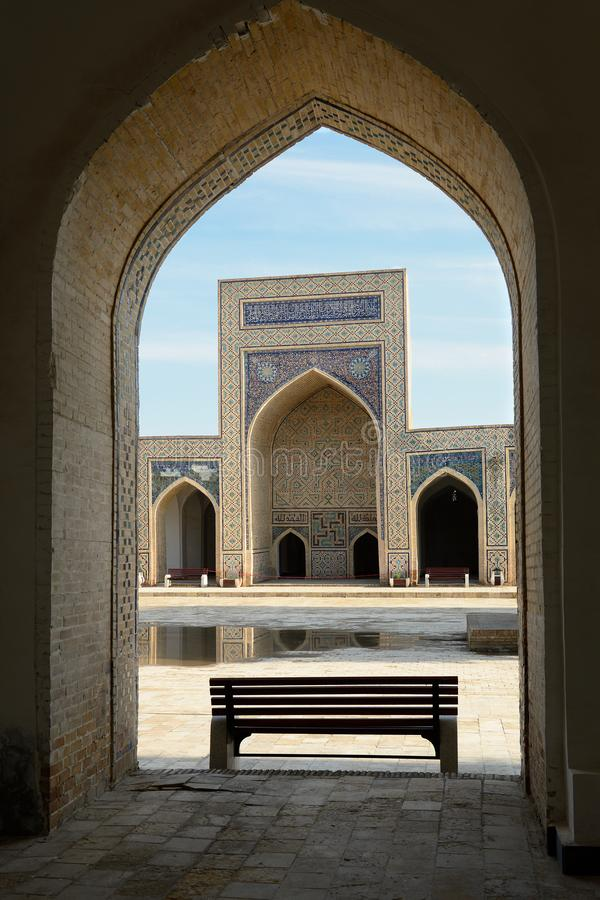 Medressa w Bukhara, Uzbekistan zdjęcia stock