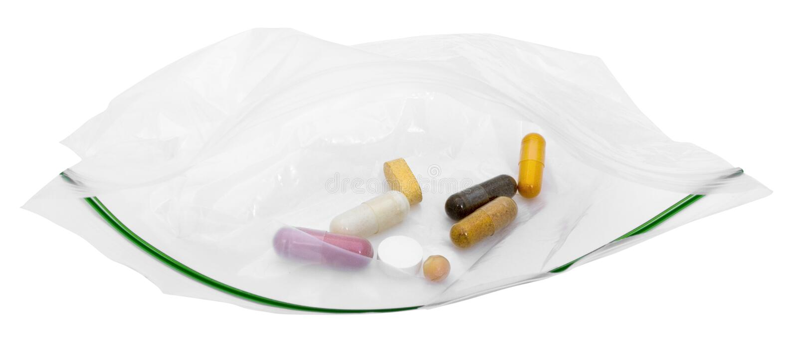 Daily Meds stock photography