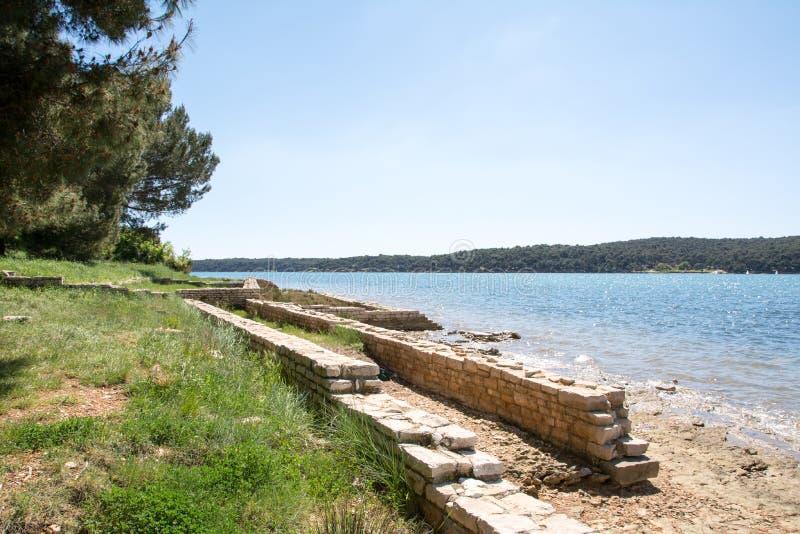 Medulin, Istria region, Chorwacja zdjęcie stock