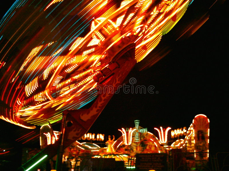 Medulin Luna Park August 2006 royalty free stock image